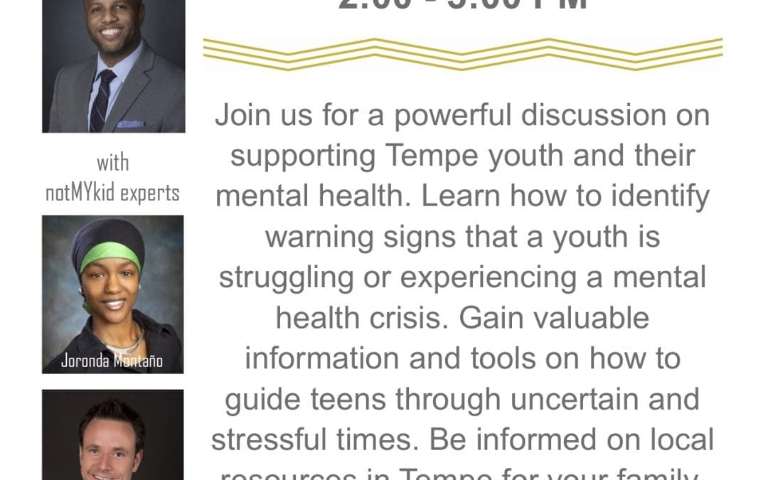 Tempe Town Hall – Youth Mental Health
